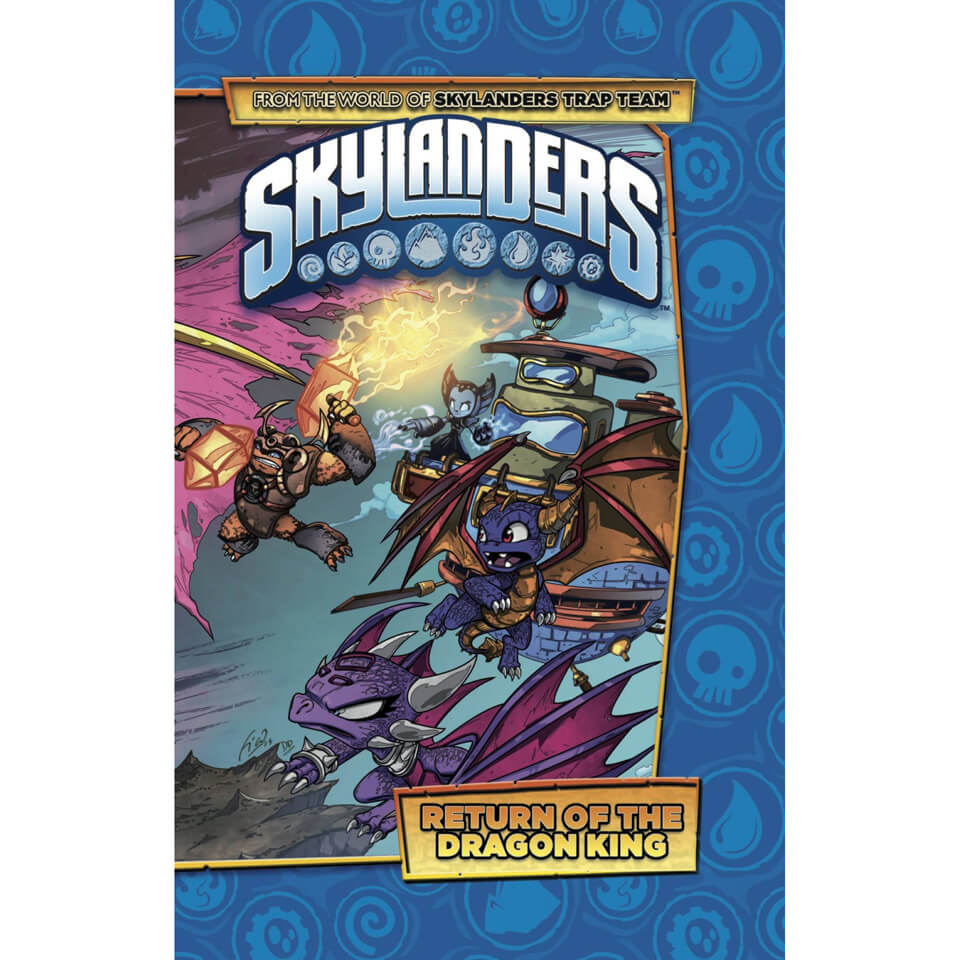 Skylanders Return of the Dragon King Graphic Novel