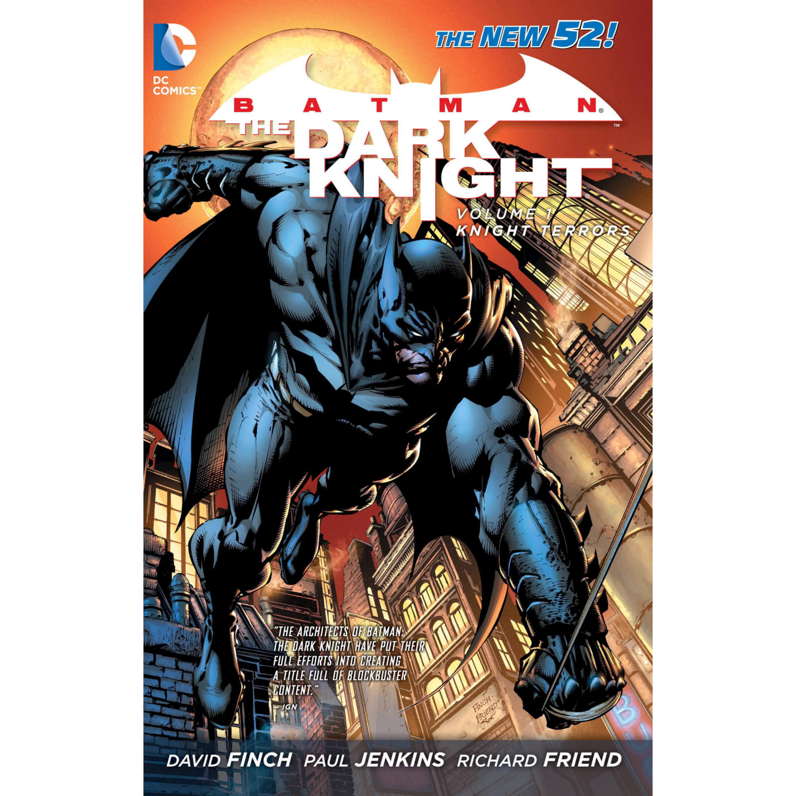 DC Comics Batman Dark Knight Vol 01 Knight Terrors (N52) (Graphic Novel)