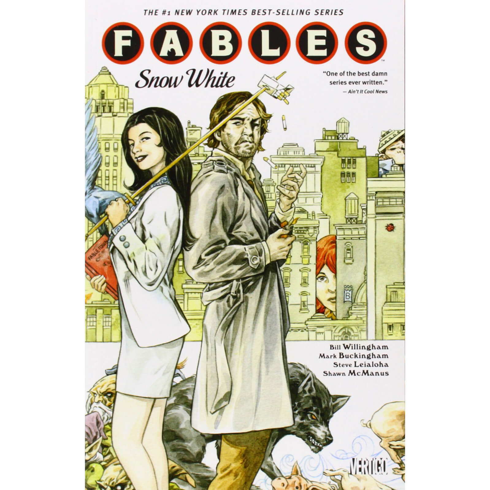 Fables: Snow White - Volume 19 Graphic Novel