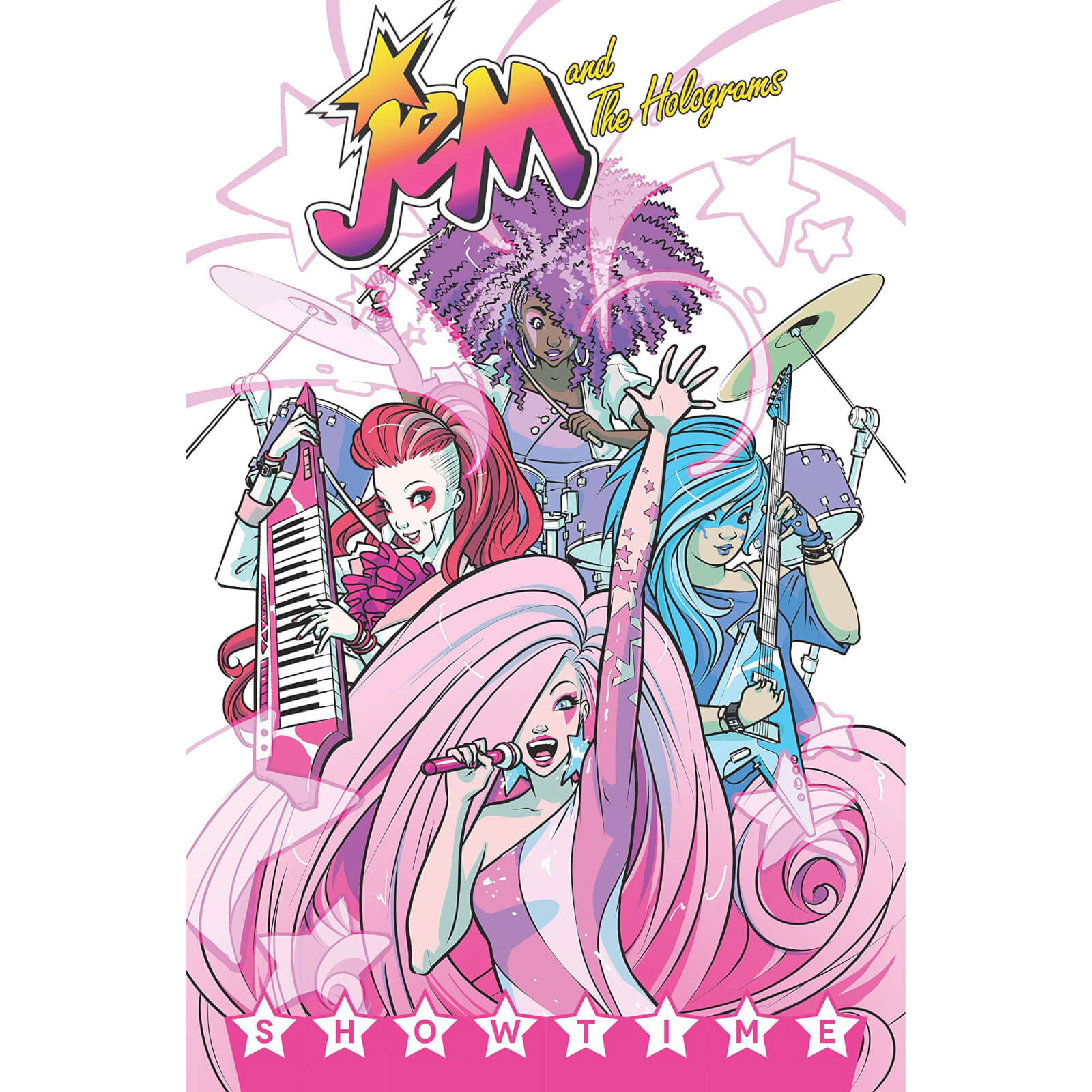 Jem and the Holograms: Showtime - Volume 1 Graphic Novel