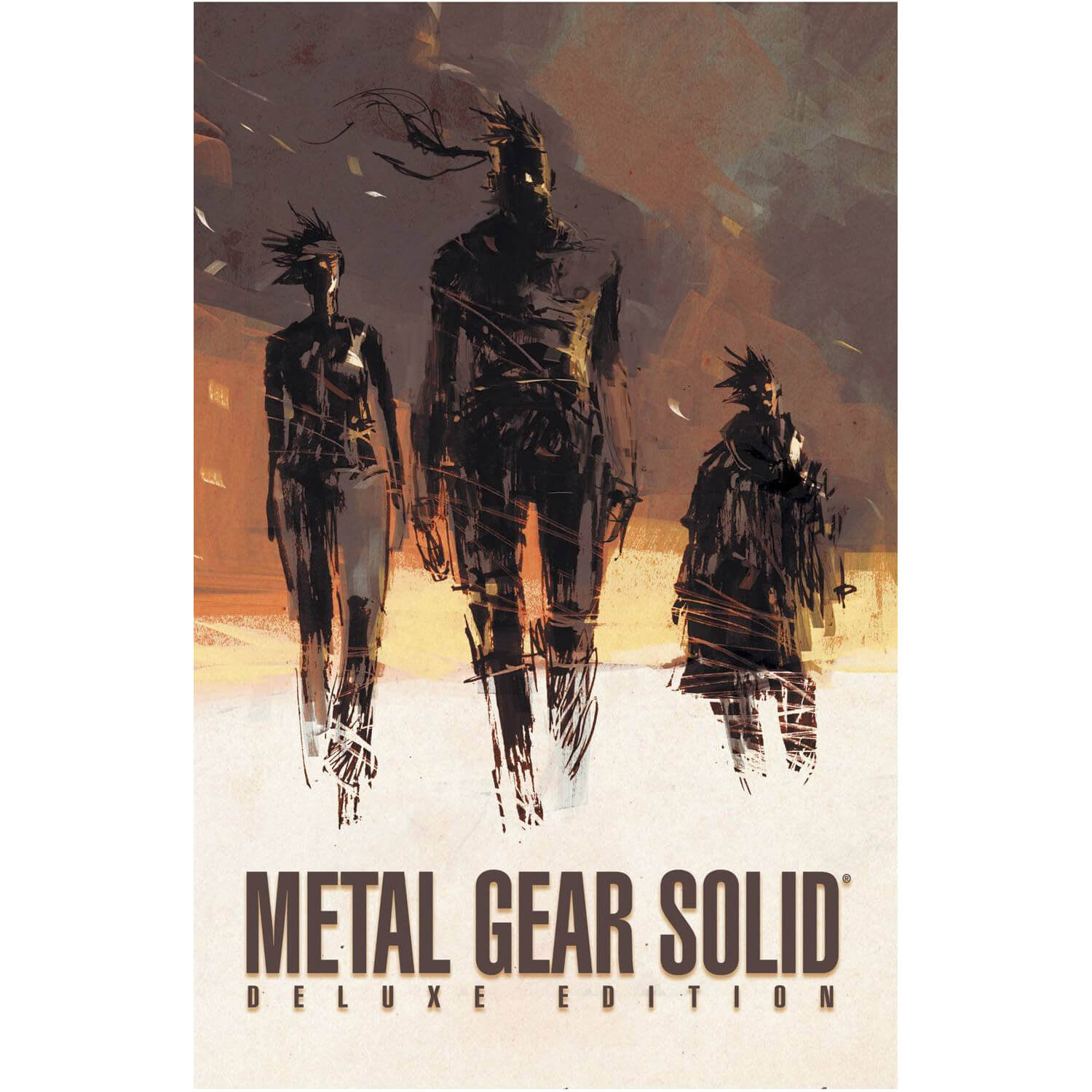 Metal Gear Solid Deluxe Edition Graphic Novel