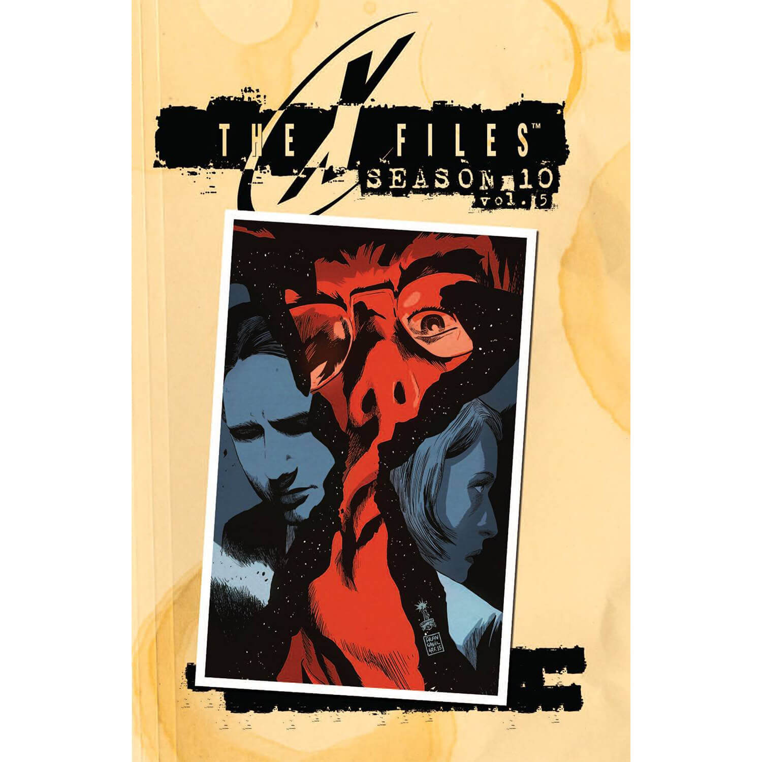 The X-Files: Season 10 - Volume 5 Graphic Novel