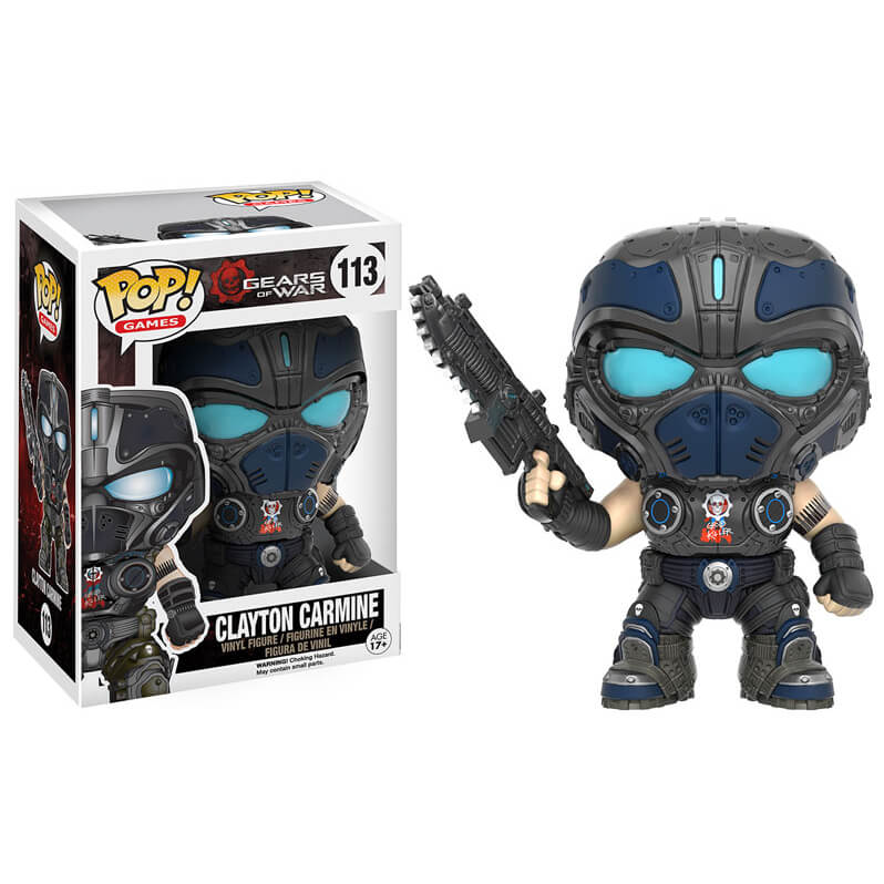 Figurine Clayton Carmine Gears of War Funko Pop!