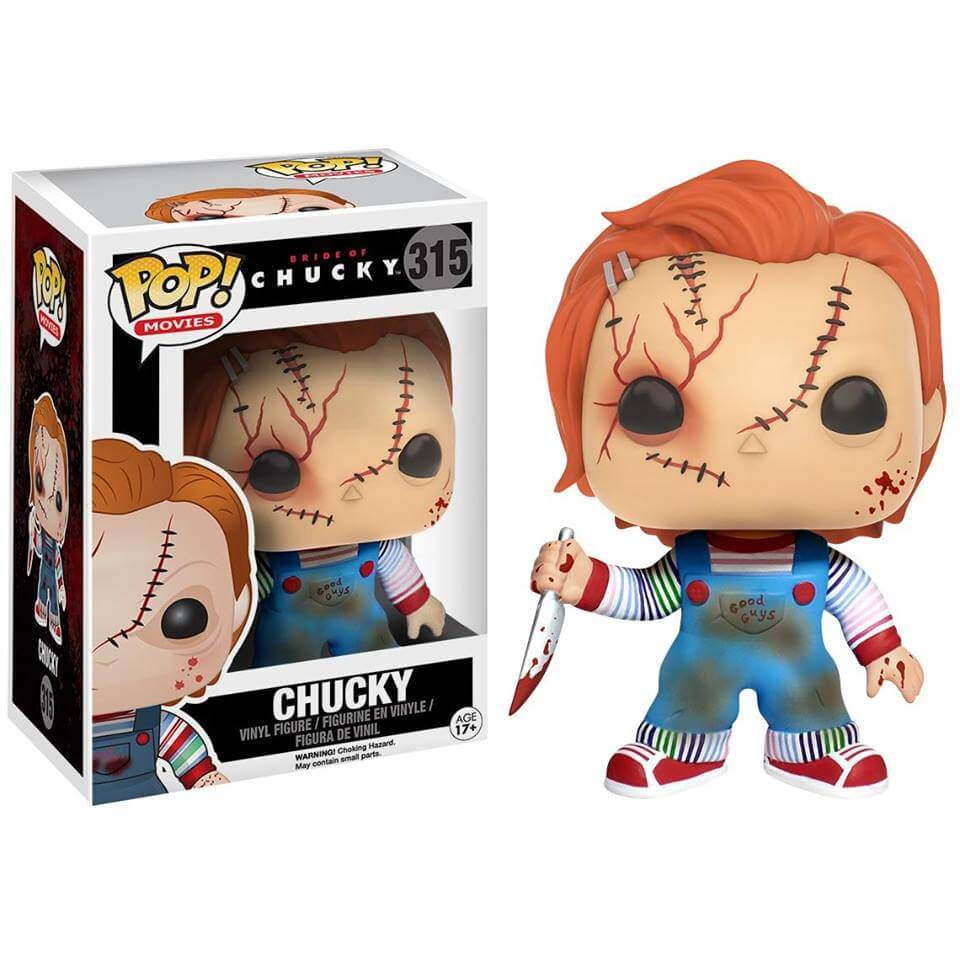 Bride of Chucky Chucky Pop! Vinyl Figure
