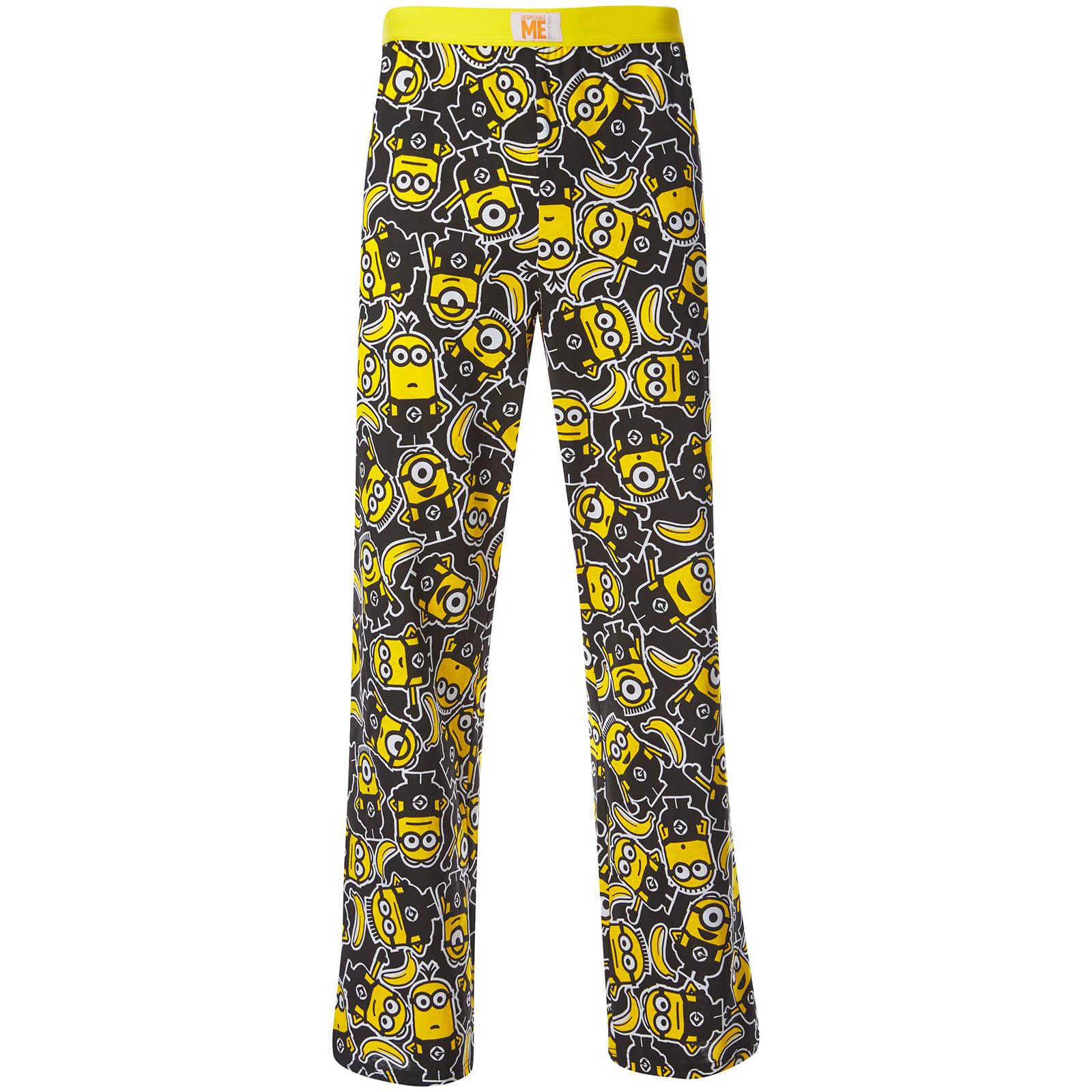 pantalon de pyjama pour homme minions jaune merchandise. Black Bedroom Furniture Sets. Home Design Ideas