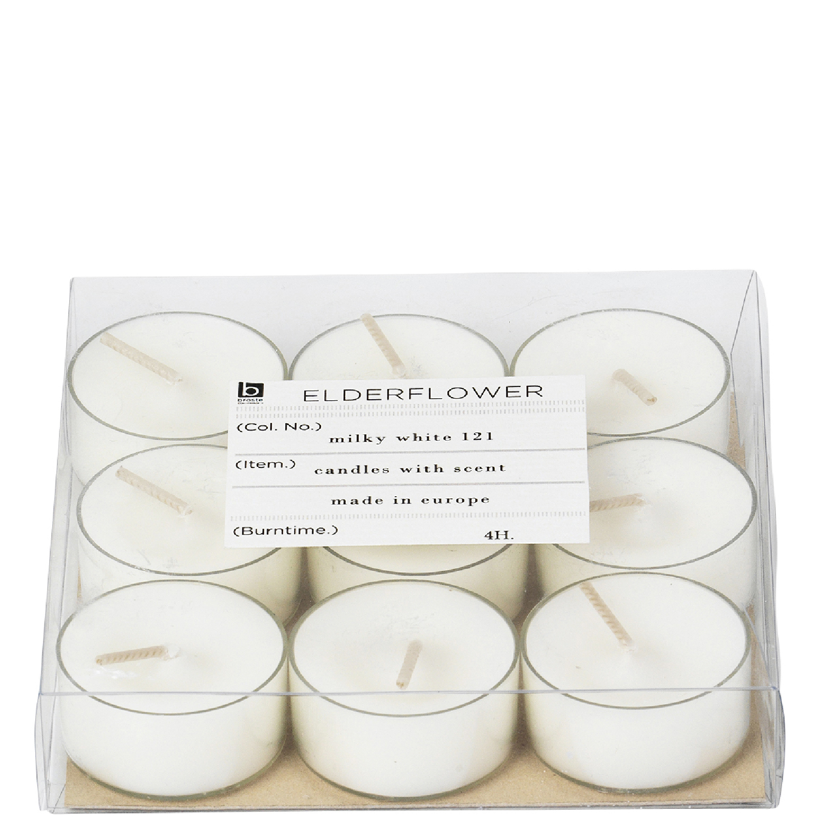 Broste Copenhagen Tealights - Elderflower (Set of 9)
