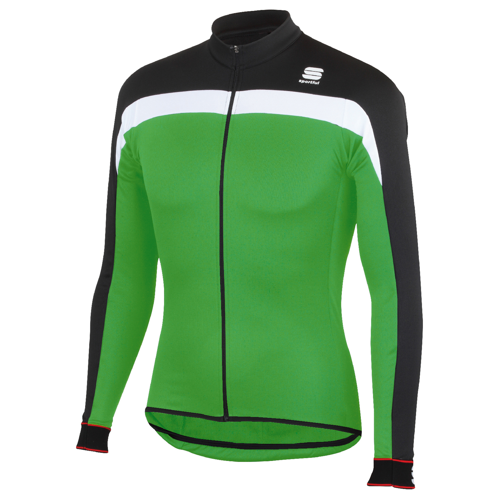 4ec35a272 Sportful Pista Thermal Long Sleeve Jersey - Black Green