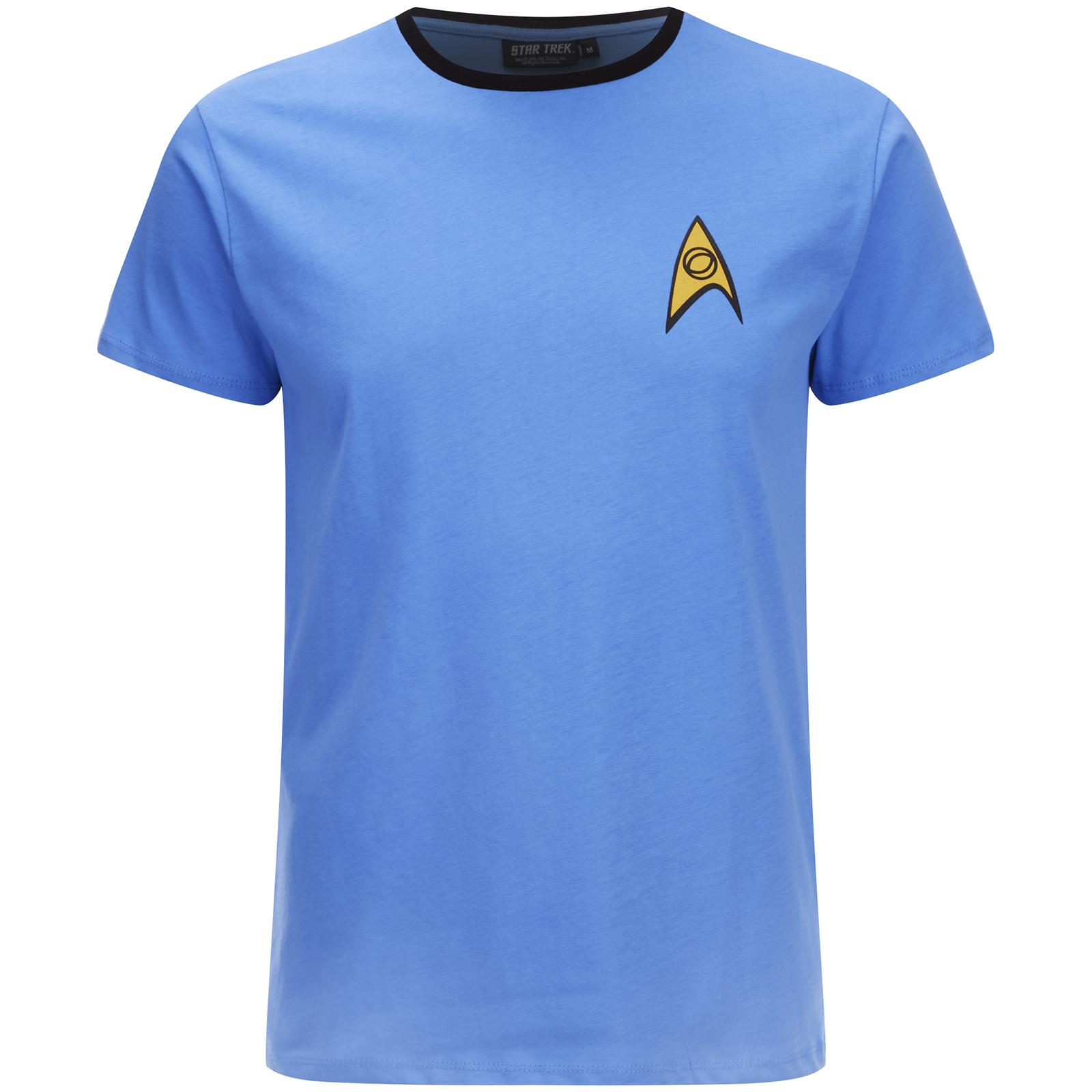 T-Shirt Star Trek Uniforme Science - Bleu Merchandise   fr.zavvi bb76a131dee