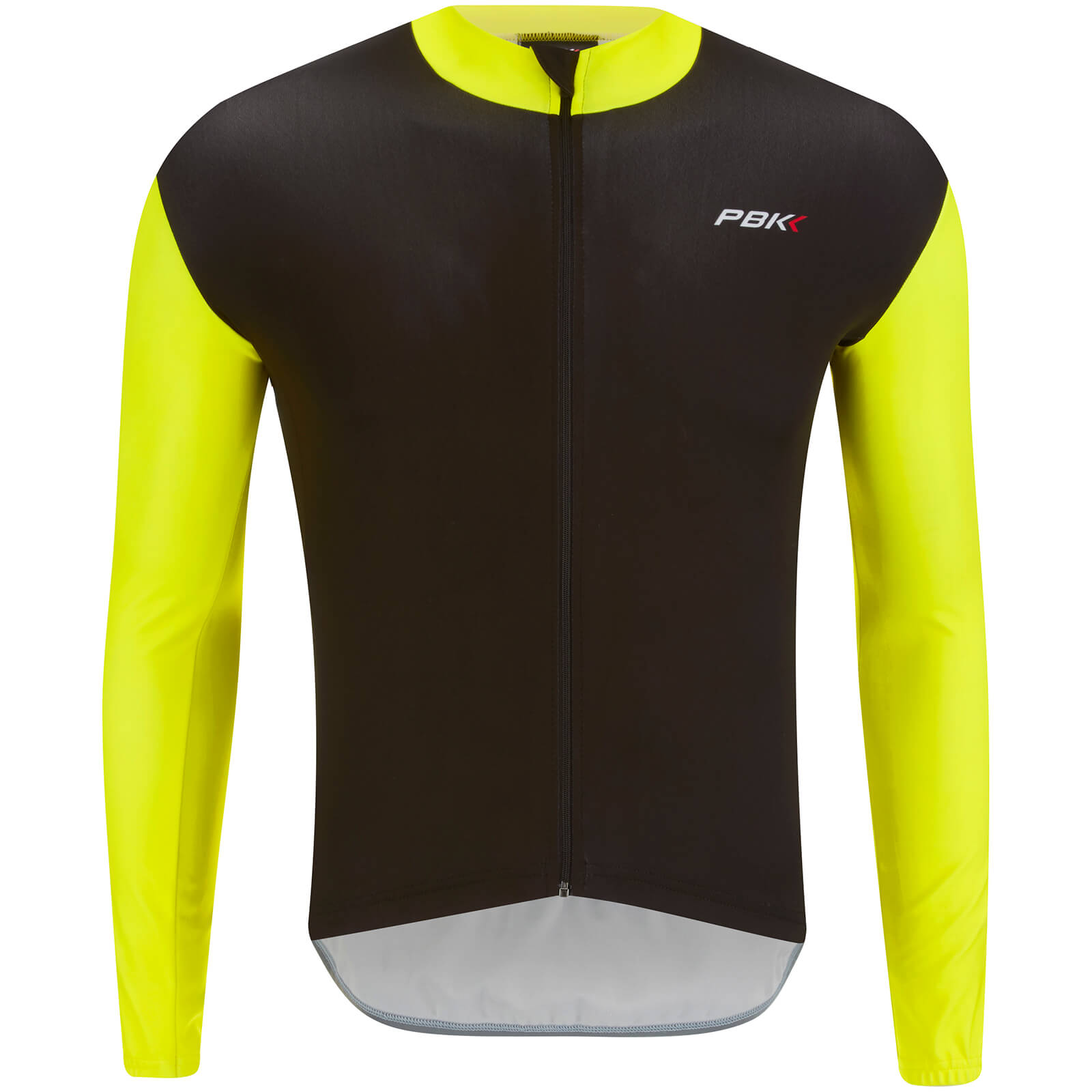 PBK Stelvio Water Repellent Long Sleeve Jersey - Fluro