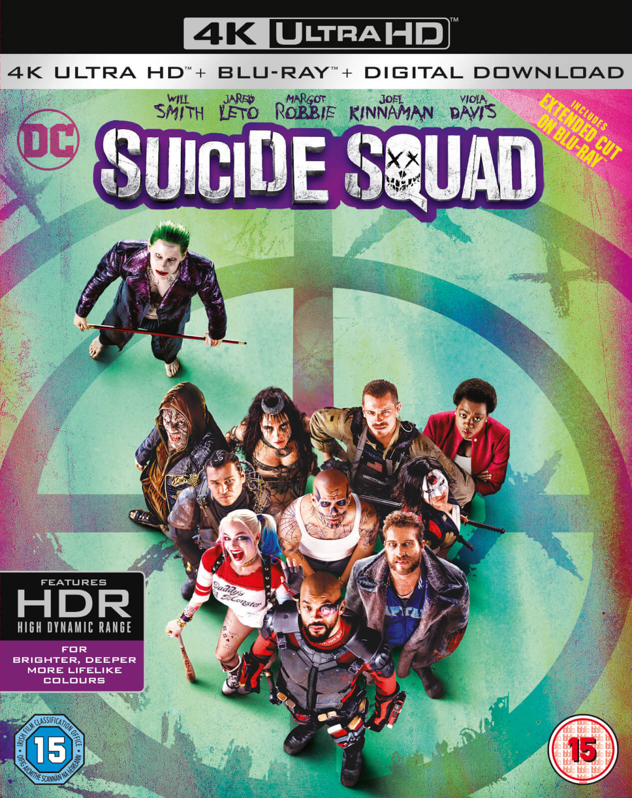 Suicide Squad - 4K Ultra HD (Includes Ultraviolet Copy)