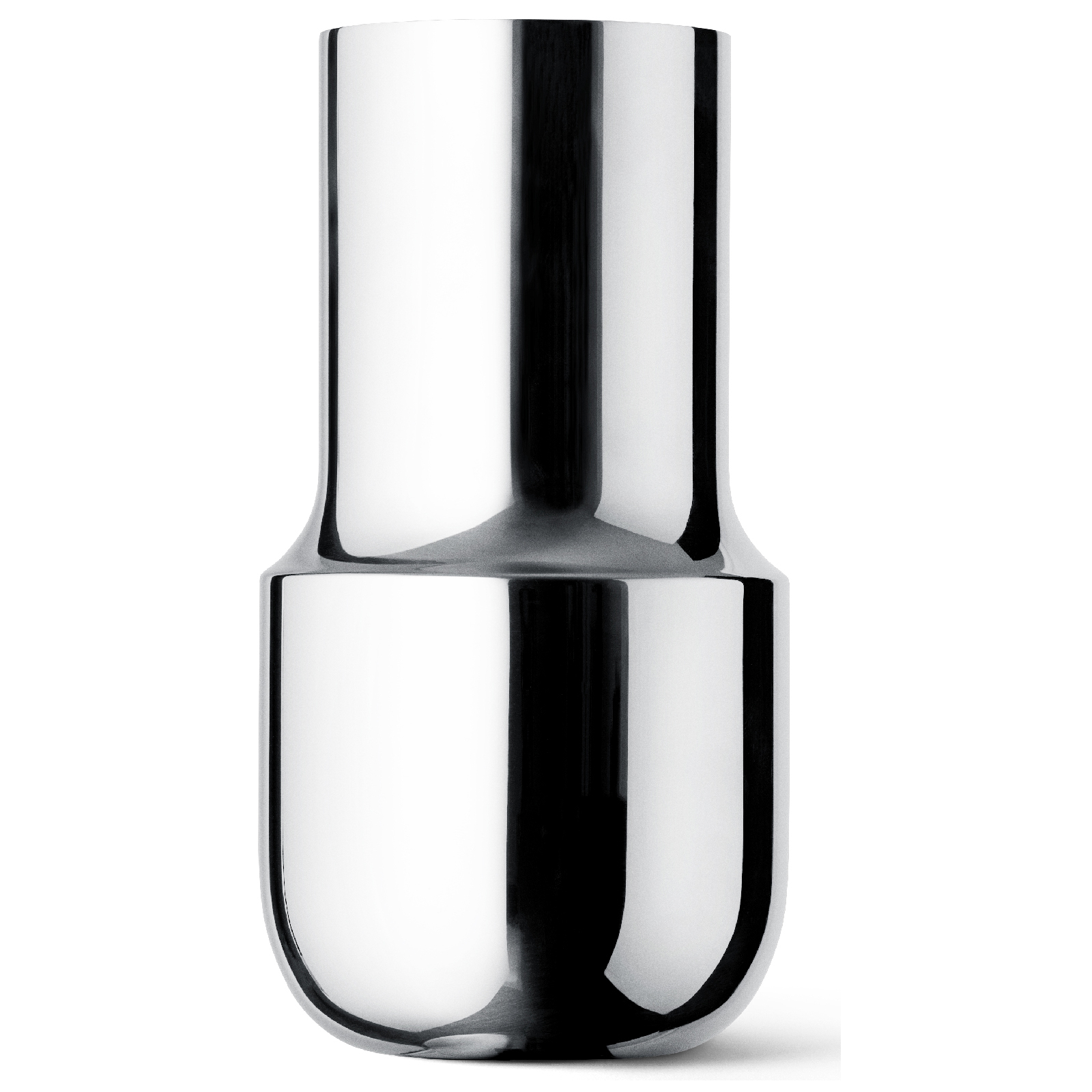 Menu Tactile Tall Vase - Stainless Steel