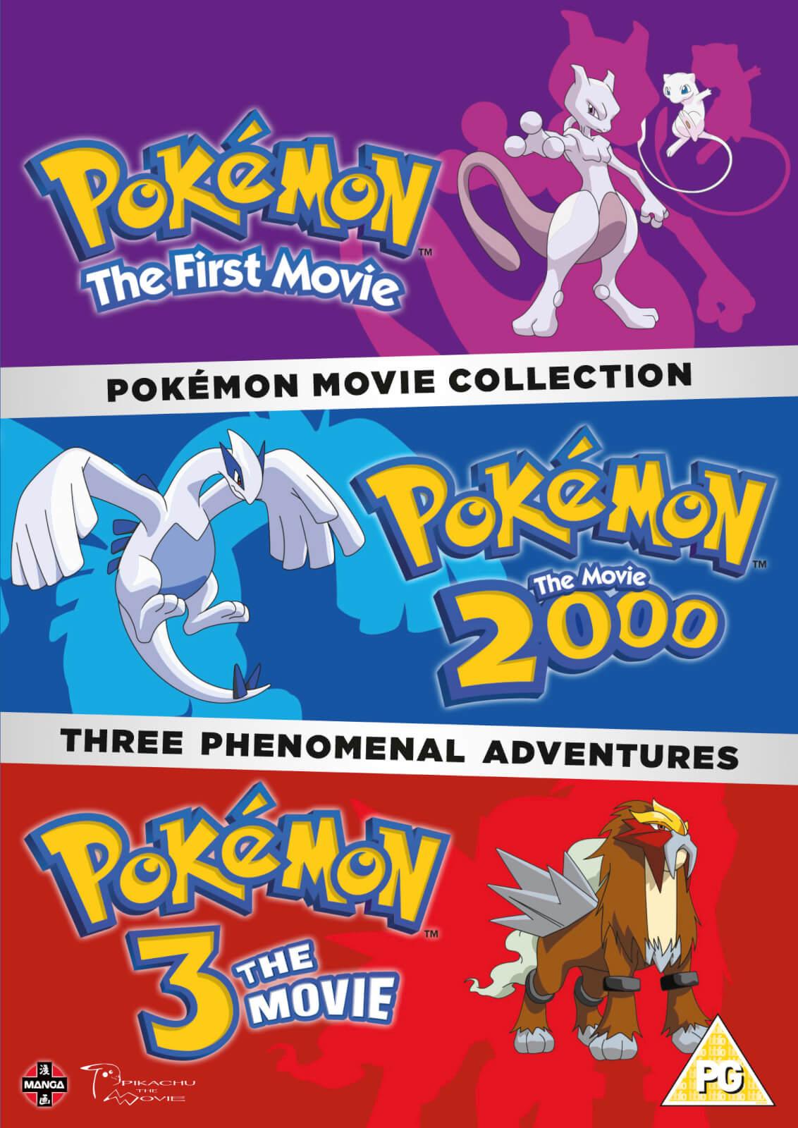 Pokemon Movie Collection Pokemon The First Movie Pokemon The