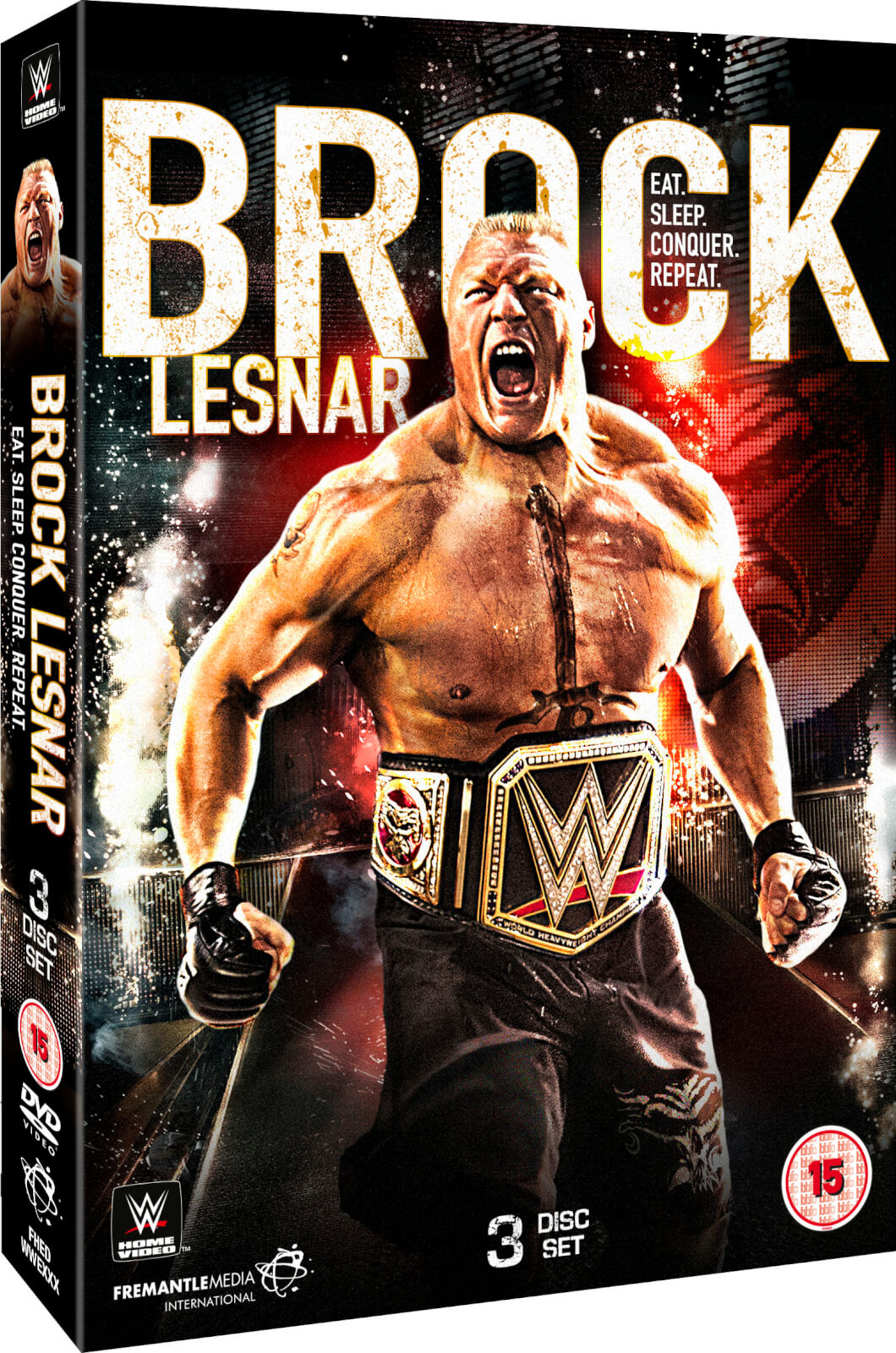 WWE: Brock Lesnar - Eat. Sleep. Conquer. Repeat.