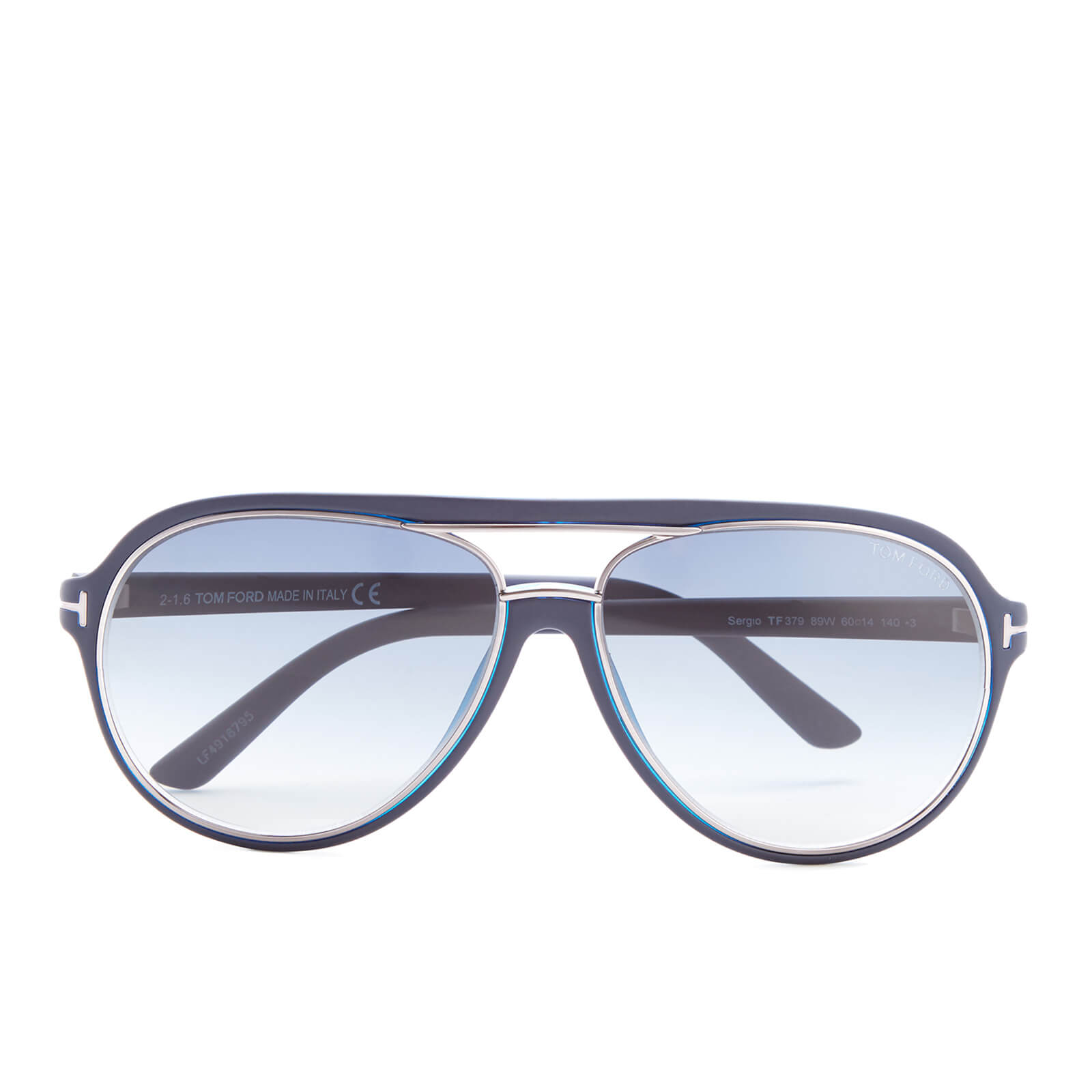 151468671 Tom Ford Sergio Sunglasses - Blue - Free UK Delivery over £50