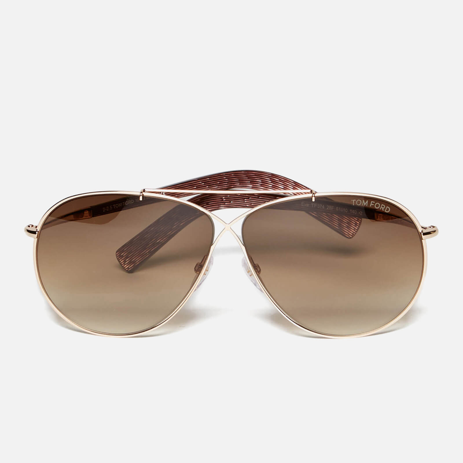 877c6a1ae7c0 Tom Ford Women s Eva Sunglasses - Brown - Free UK Delivery over £50