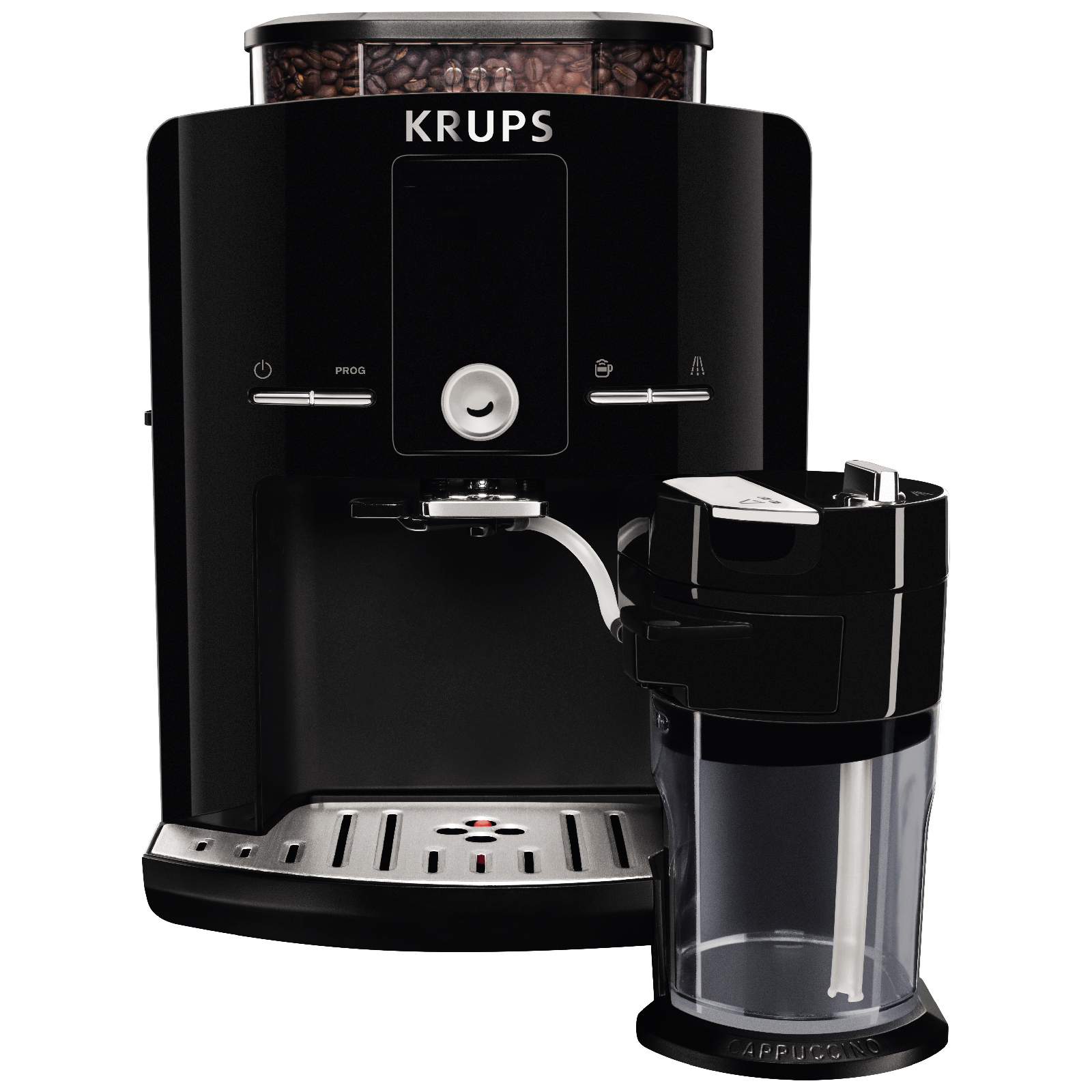 krups espresseria automatic ea8298 series bean to cup. Black Bedroom Furniture Sets. Home Design Ideas