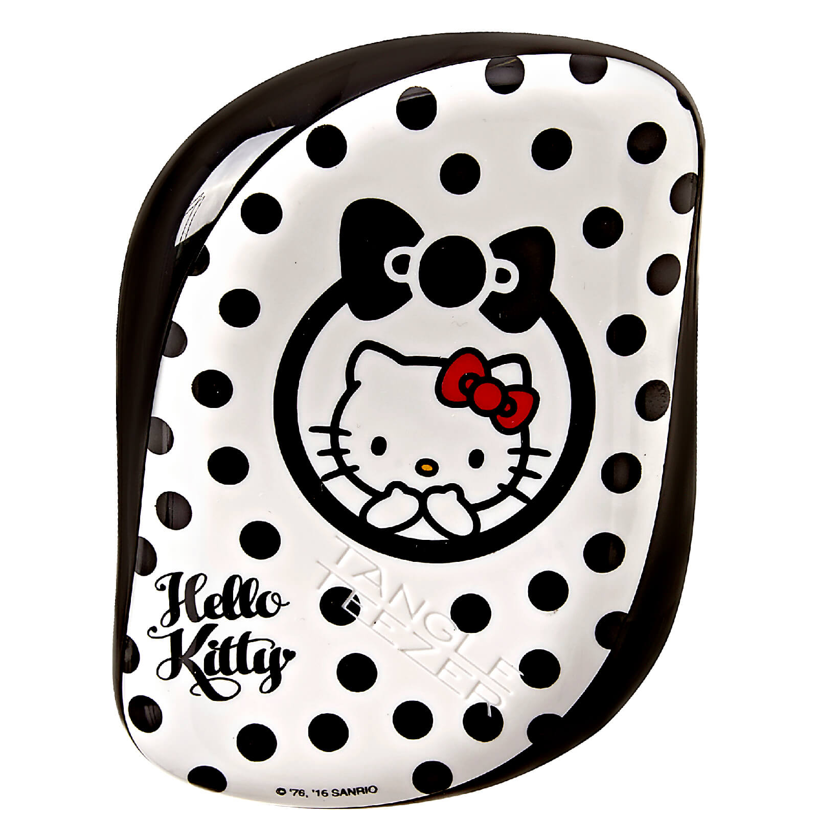 4198a7747 Tangle Teezer Compact Styler Hairbrush - Hello Kitty Black/White | Free  Shipping | Lookfantastic
