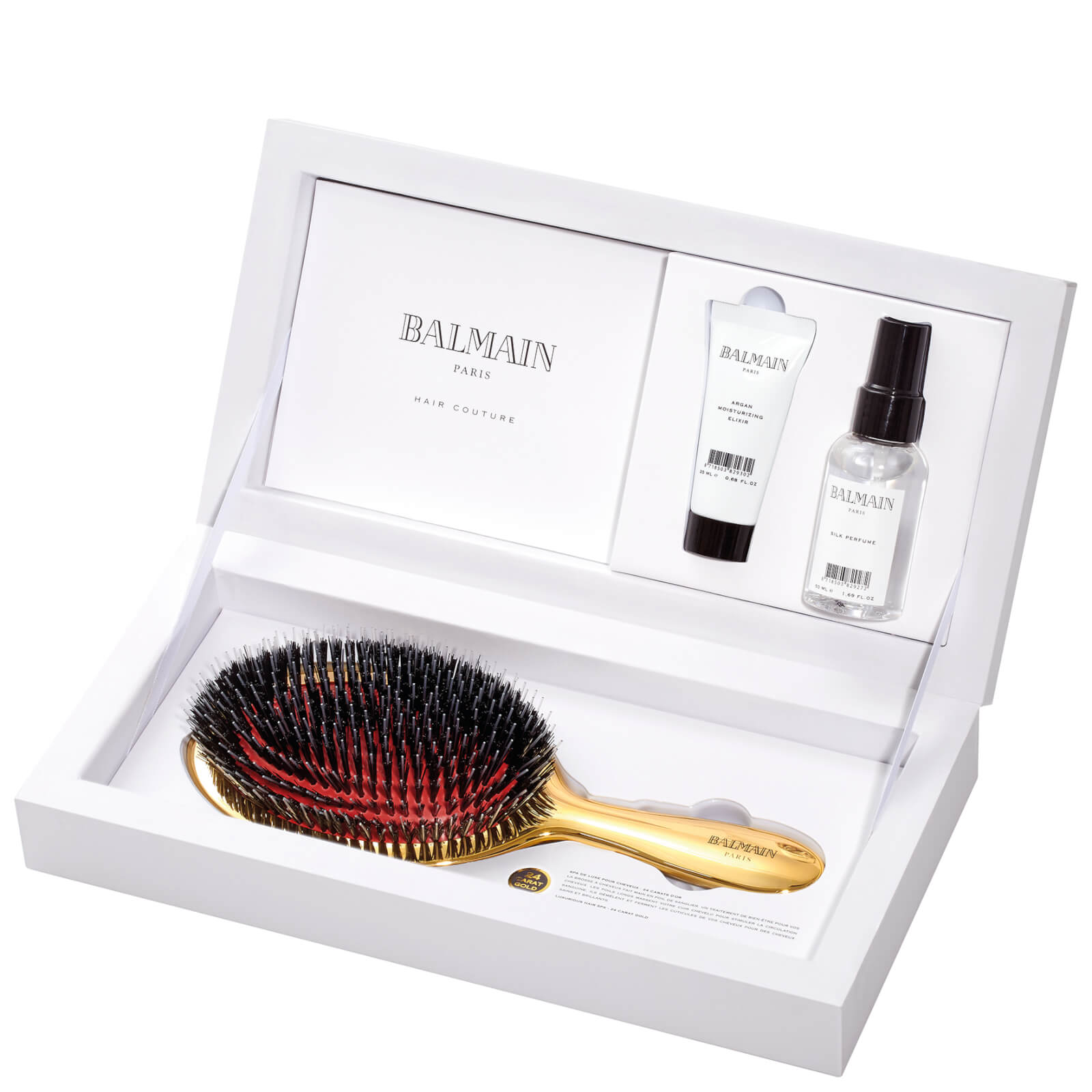 Balmain Hair Golden Brush Set Worth 13620 Free Shipping