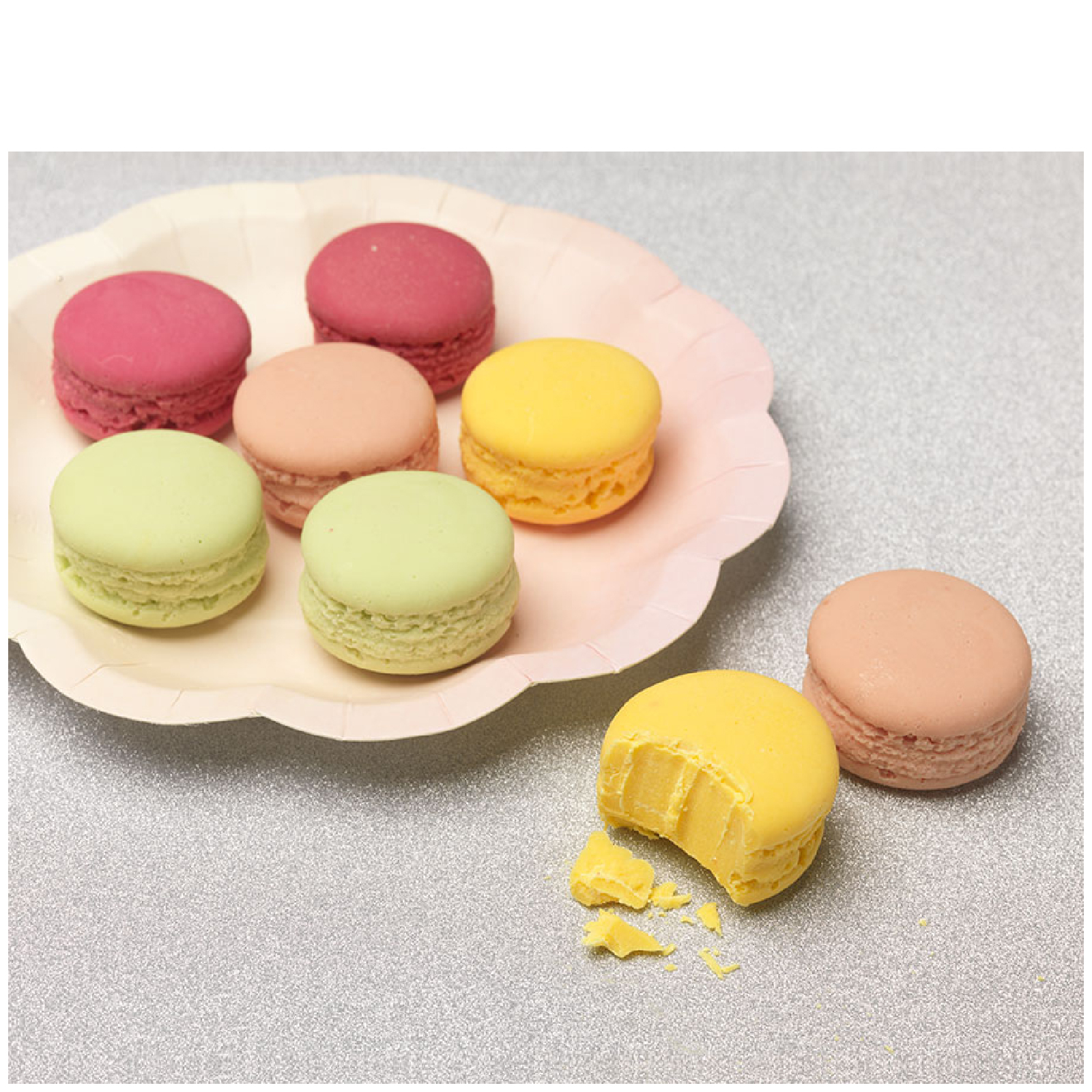 Belgian Chocolate Macaroons (Box of 8)