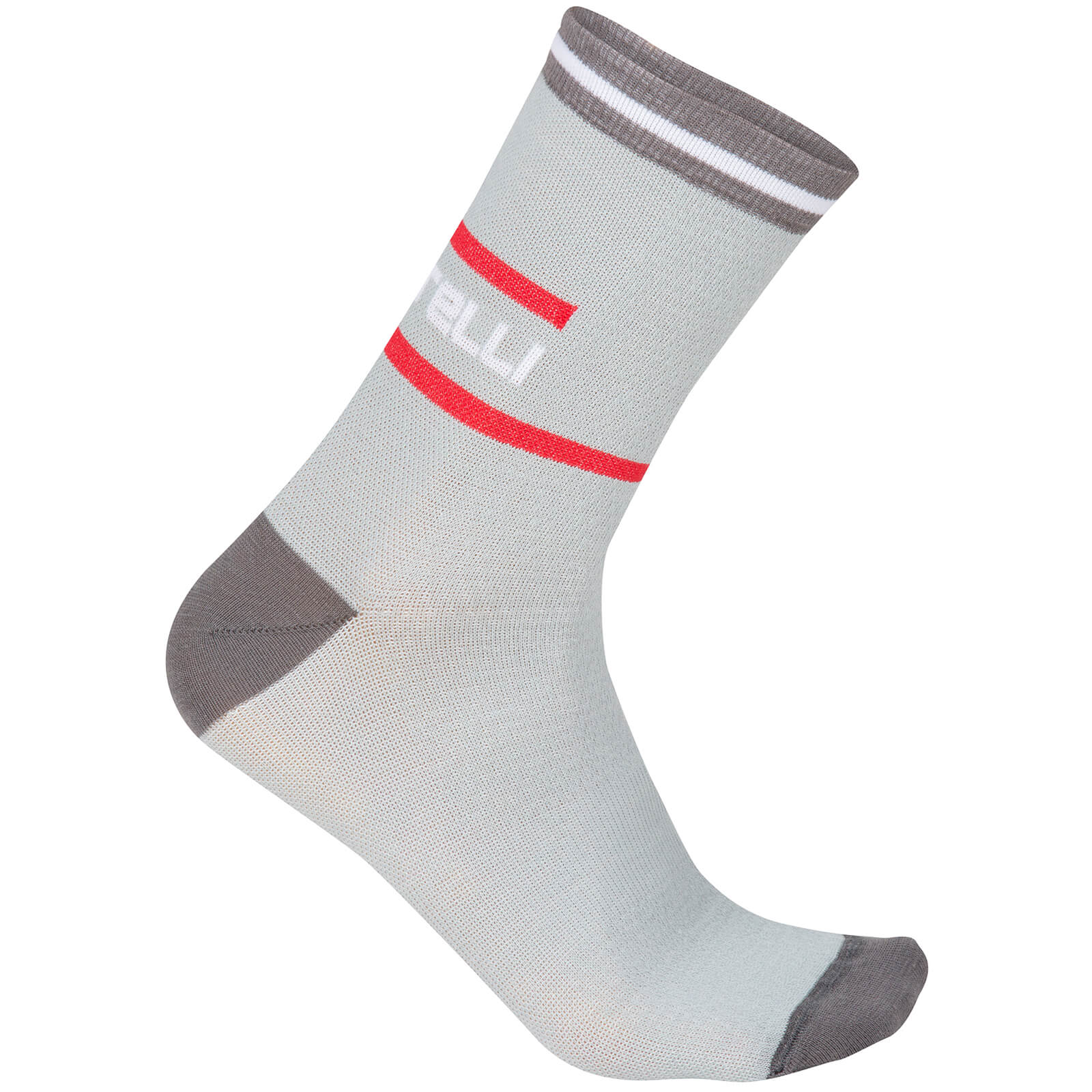 Castelli Incendio 15 Cycling Socks - Black/Anthracite