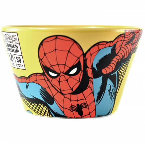 Marvel Spiderman Ceramic Bowl in Gift Box