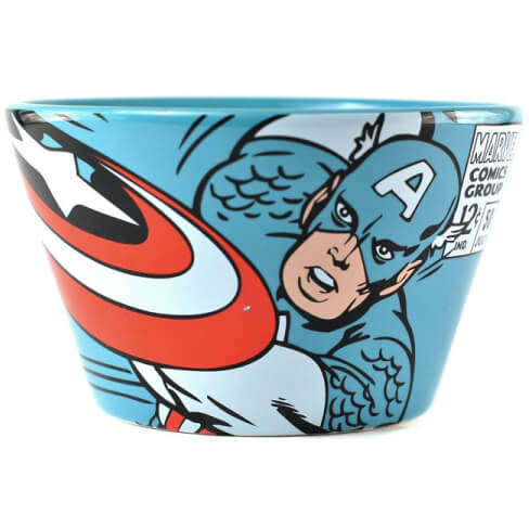Marvel Captain America Ceramic Bowl in Gift Box