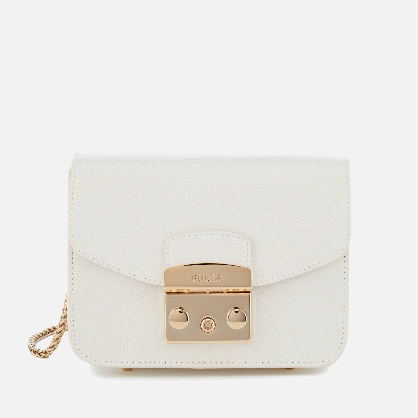 Furla Women's Metropolis Mini Cross Body Bag - White