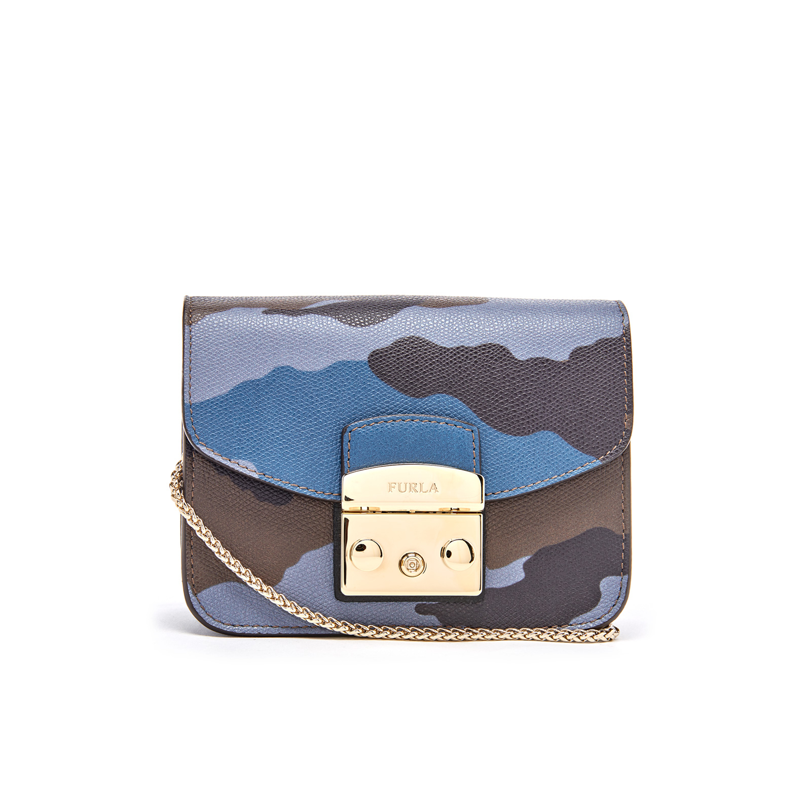 83b80795861b Furla Women s Metropolis Mini Cross Body Bag - Toni Avio and Onyx - Free UK  Delivery over £50