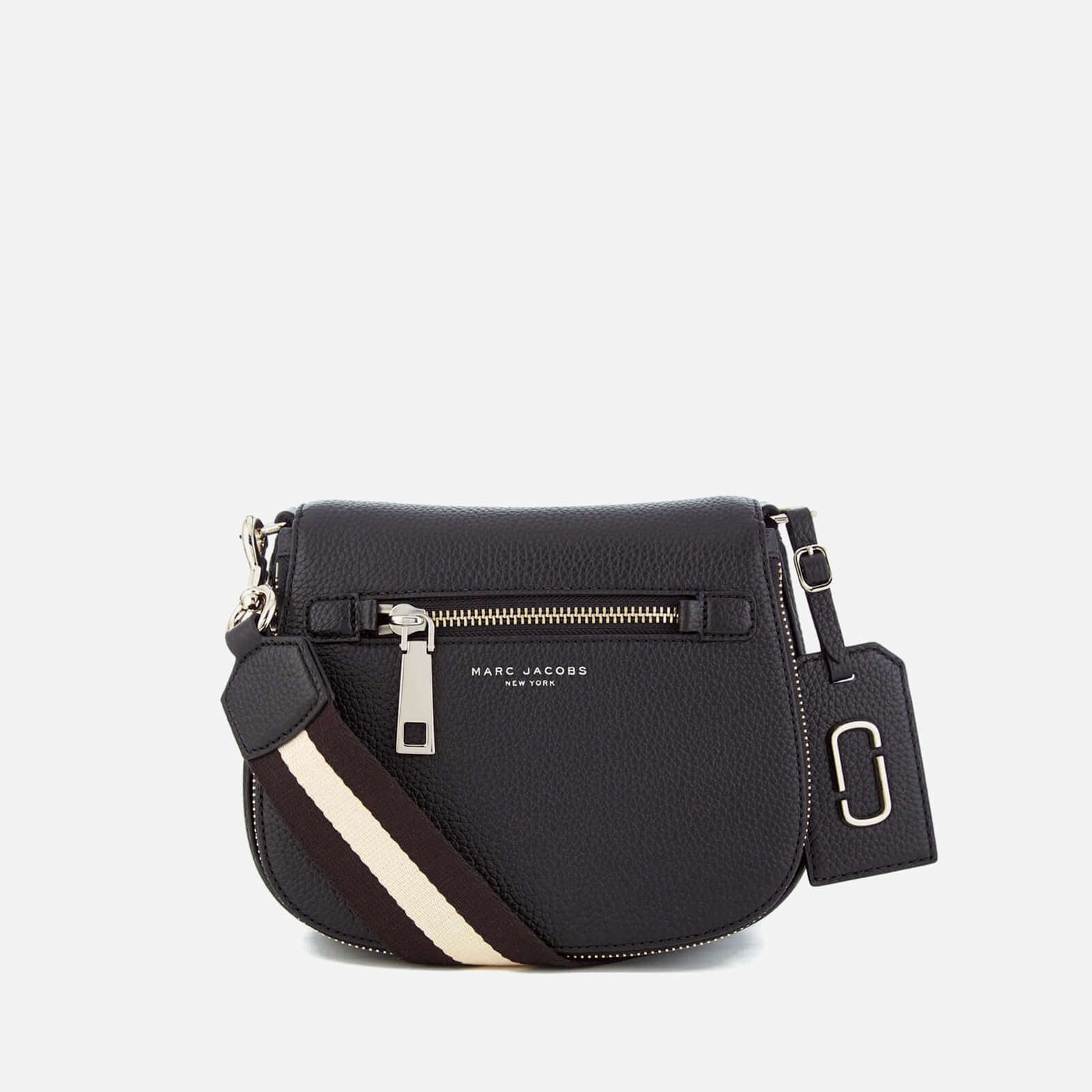 0844ab4f067f ... Marc Jacobs Women s Gotham Small Nomad Sport Strap Saddle Bag - Black