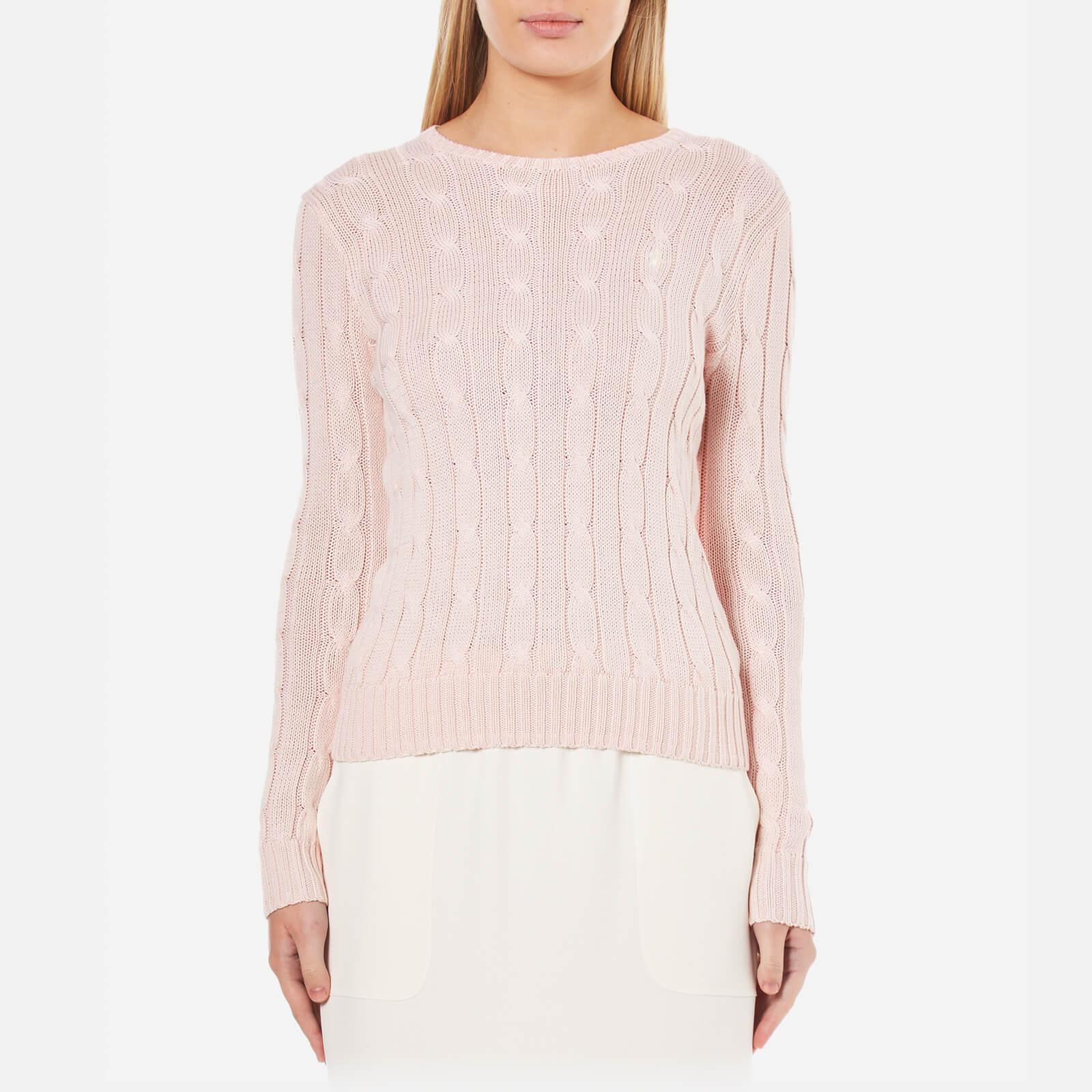86f88cc2346e Polo Ralph Lauren Women's Julianna Jumper - Cloud Pink - Free UK Delivery  over £50