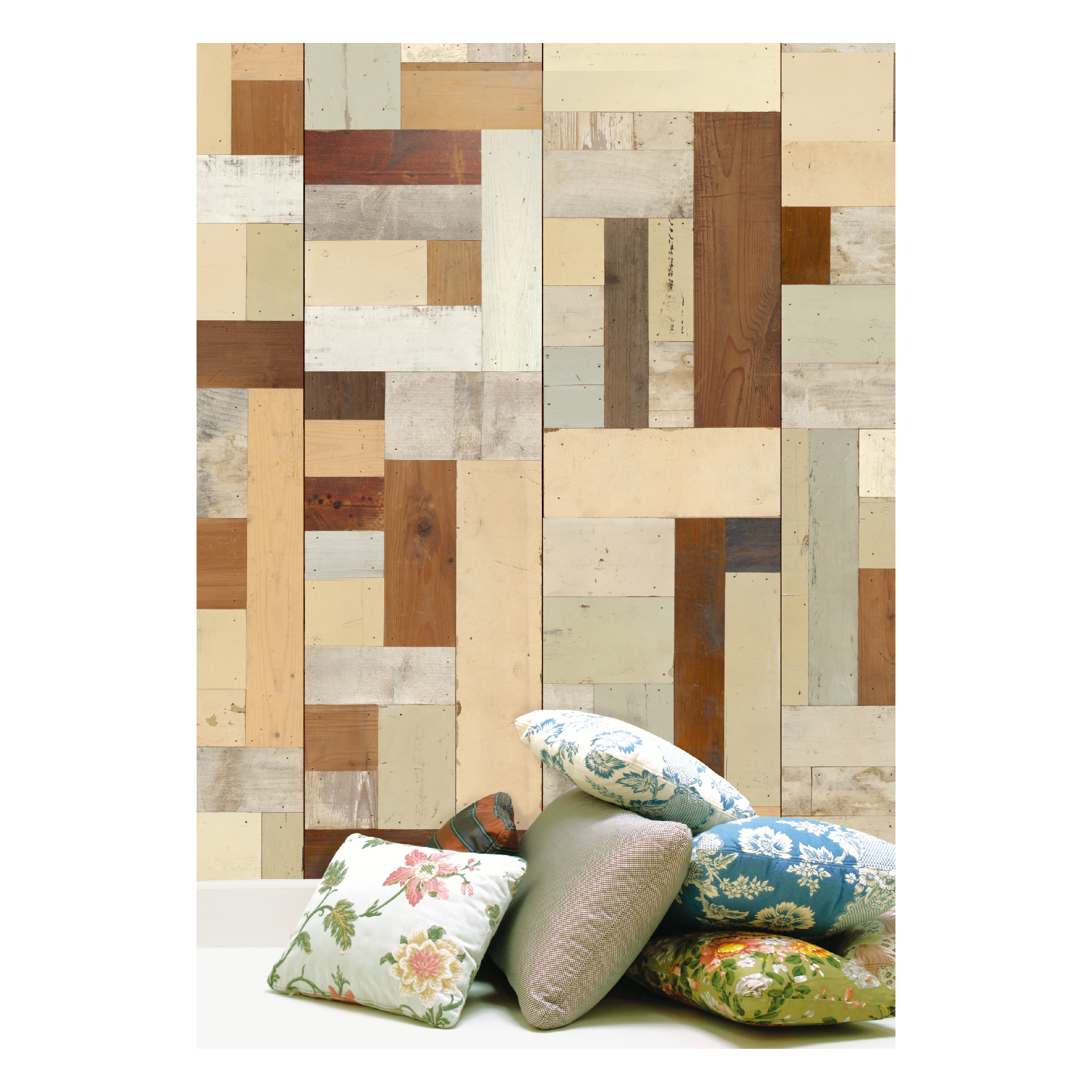 NLXL Scrapwood Wallpaper by Piet Hein Eek - PHE-06