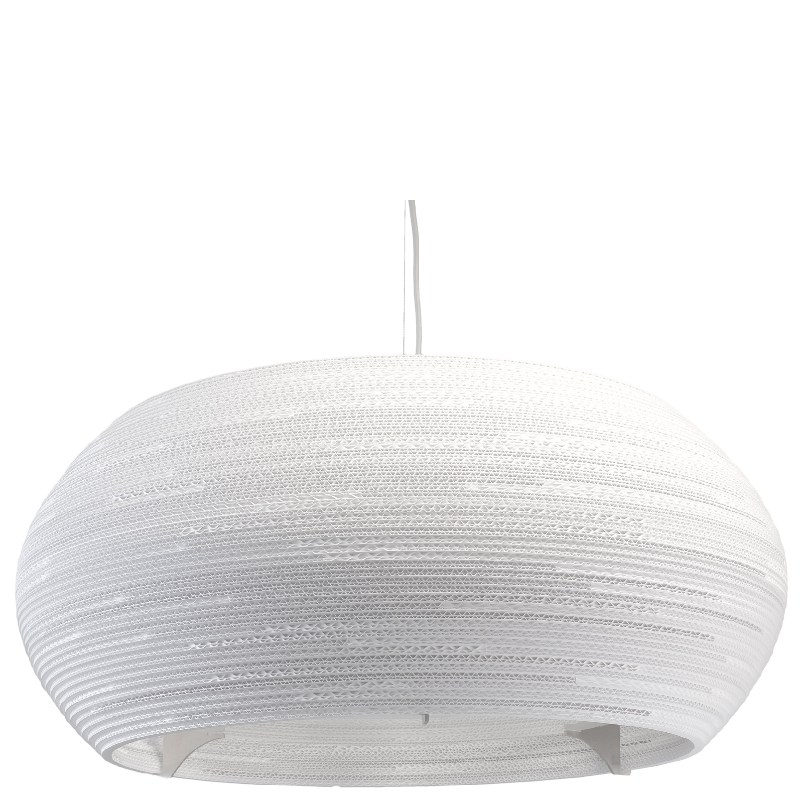 Graypants Ohio Pendant - 32 Inch - White