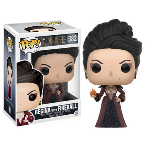Figurine Regina avec boule de feu Once Upon A Time Funko Pop!