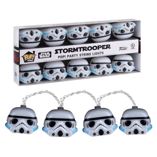 Star Wars Stormtrooper Pop! Party String Lights