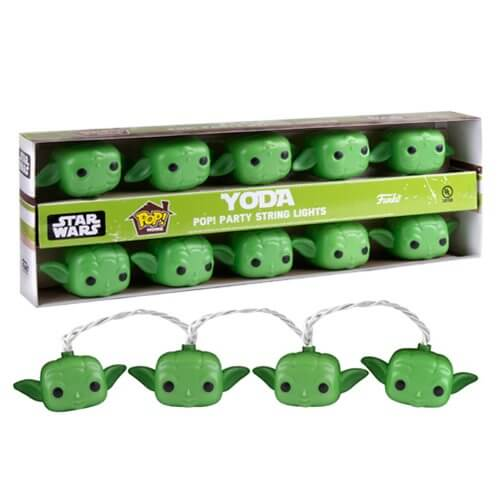 Star Wars Yoda Pop! Party String Lights