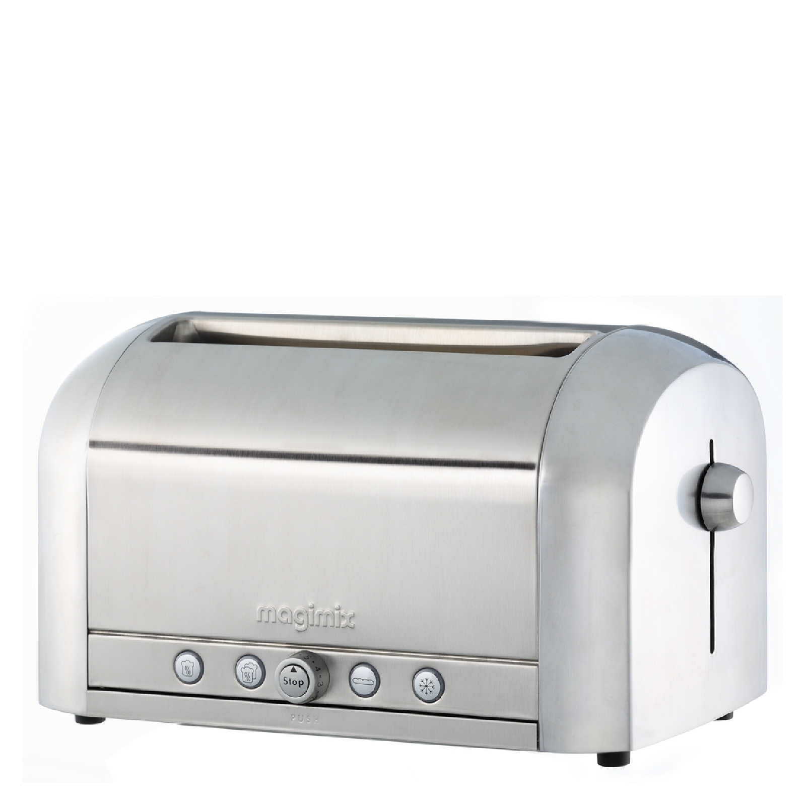 Magimix 11536 4 Slice Brushed Toaster - Stainless Steel