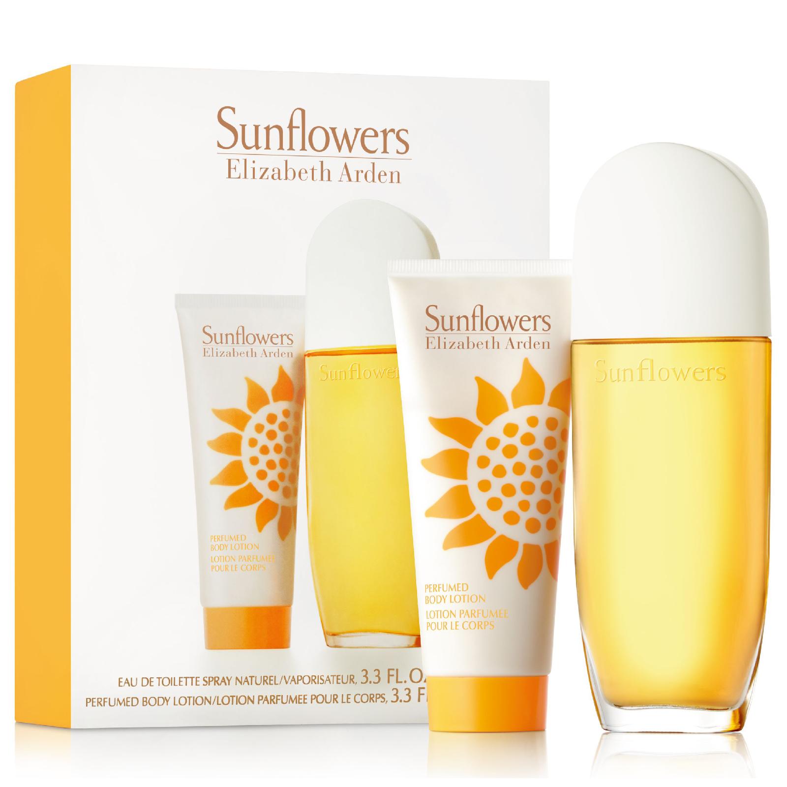 elizabeth arden sunflower body lotion