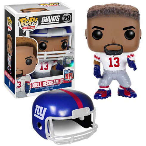 NFL Odell Beckham Jr. 2ème Vague Figurine Funko Pop!
