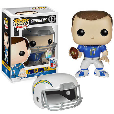 NFL Philip Rivers Wave 1 Pop! Vinyl Figure