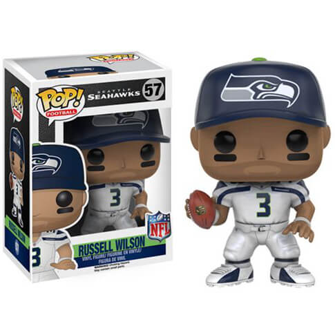 Figurine NFL Russell Wilson 3ème Vague Funko Pop!