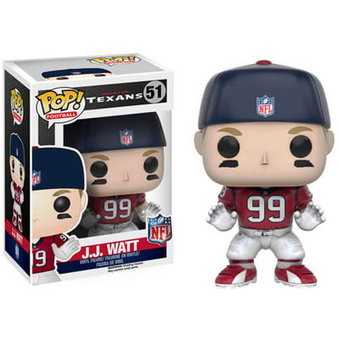 NFL J.J. Watt Wave 3 Pop! Vinyl Figure
