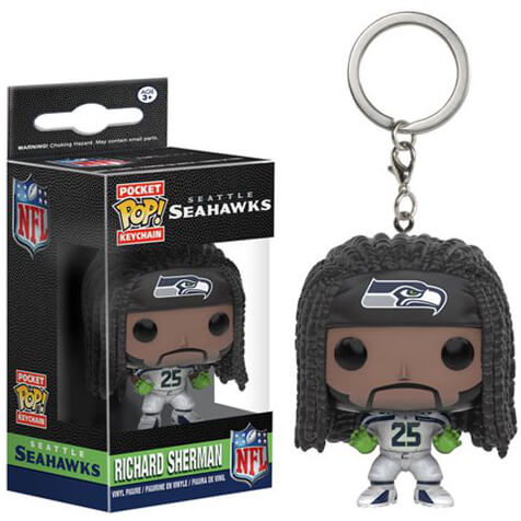 Llavero Pocket Pop! Seattle Seahawks Richard Sherman - NFL