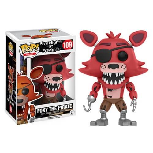 Figurine Foxy Le Pirate Five Nights at Freddy