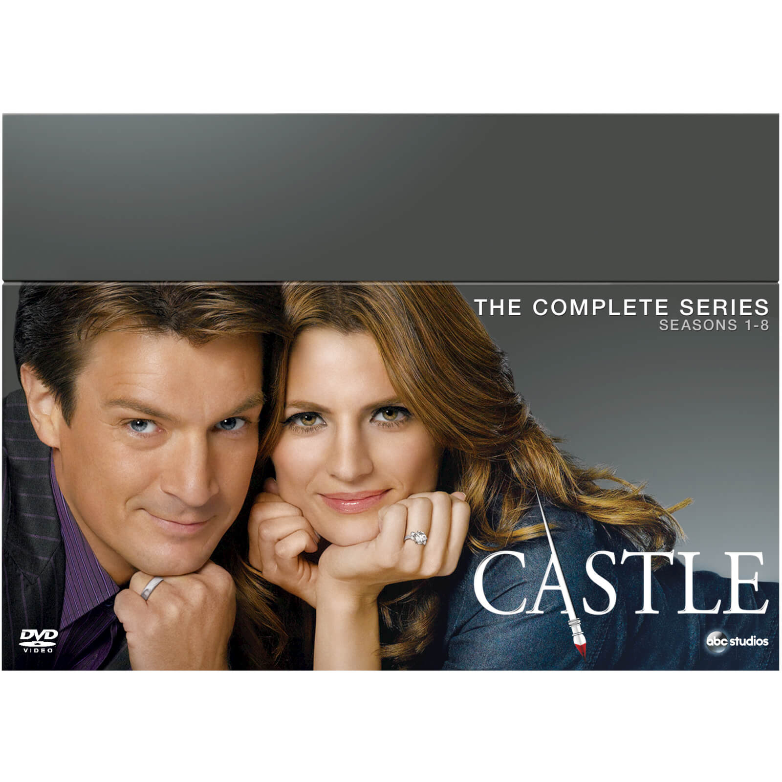 Castle Season 1-8 Complete Box Set