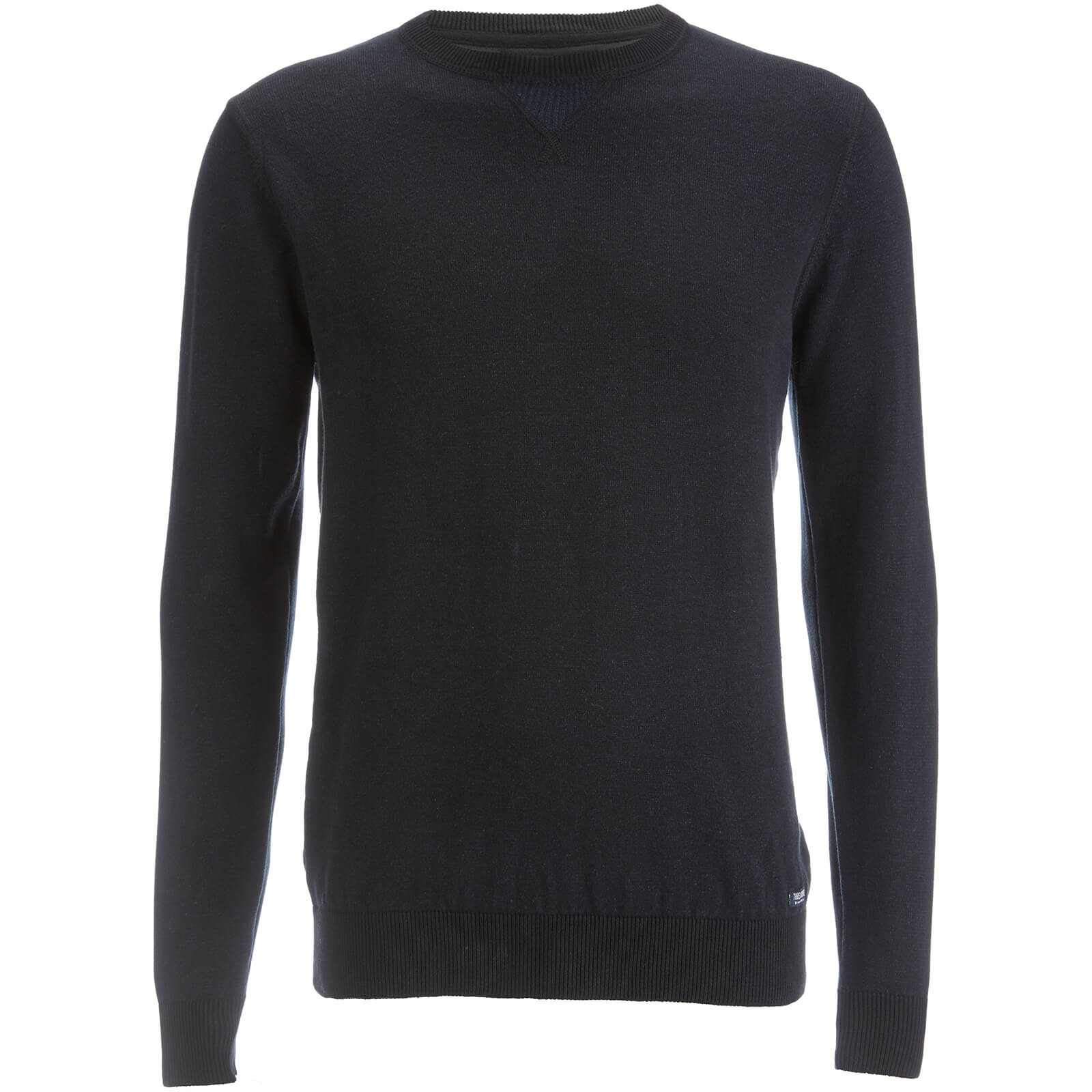 4a89516afd8430 Threadbare Men's Tommy Cotton Crew Neck Casual Jumper - Black Mens Clothing  | Zavvi Australia