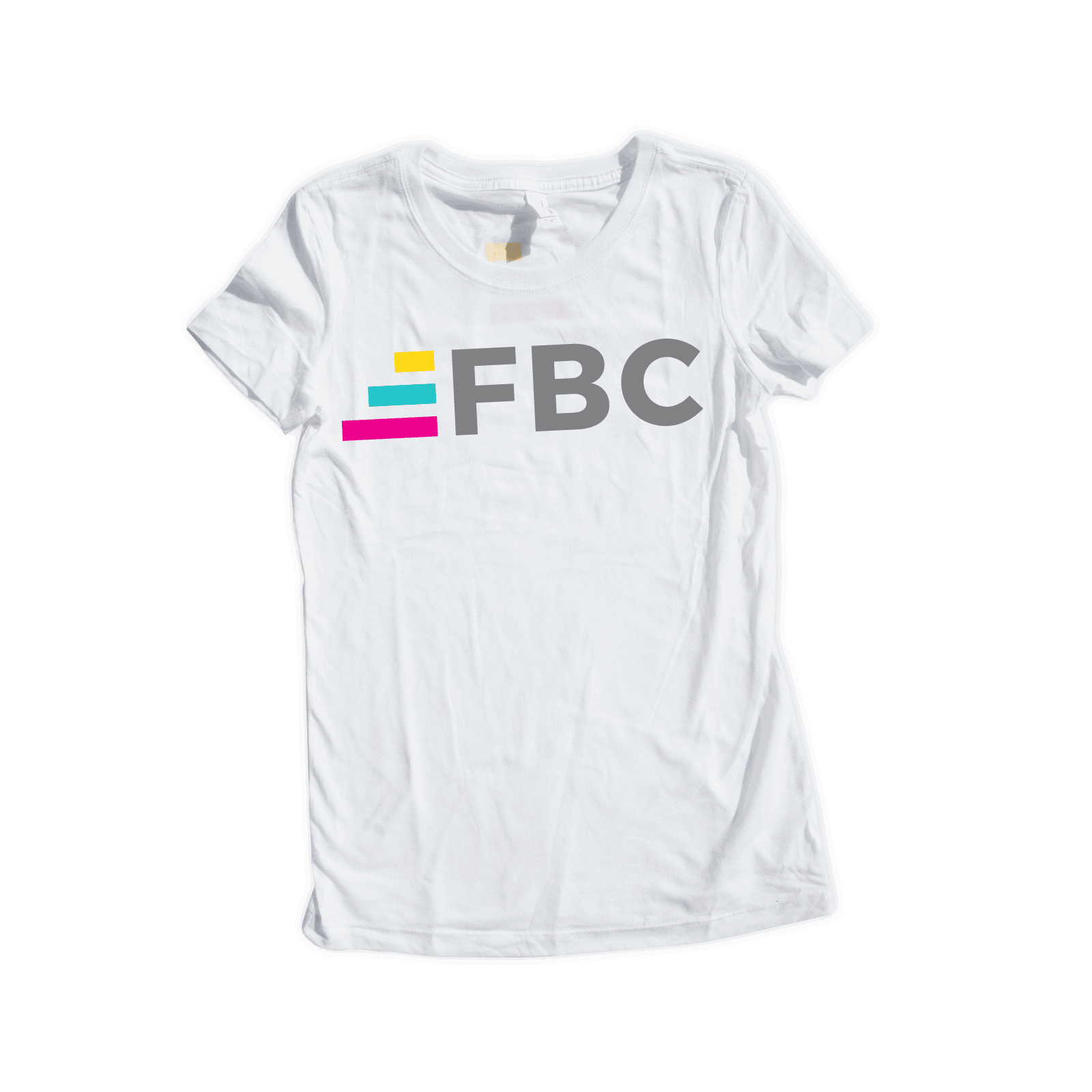 Fit Body Challenge Tee V.1 White Small