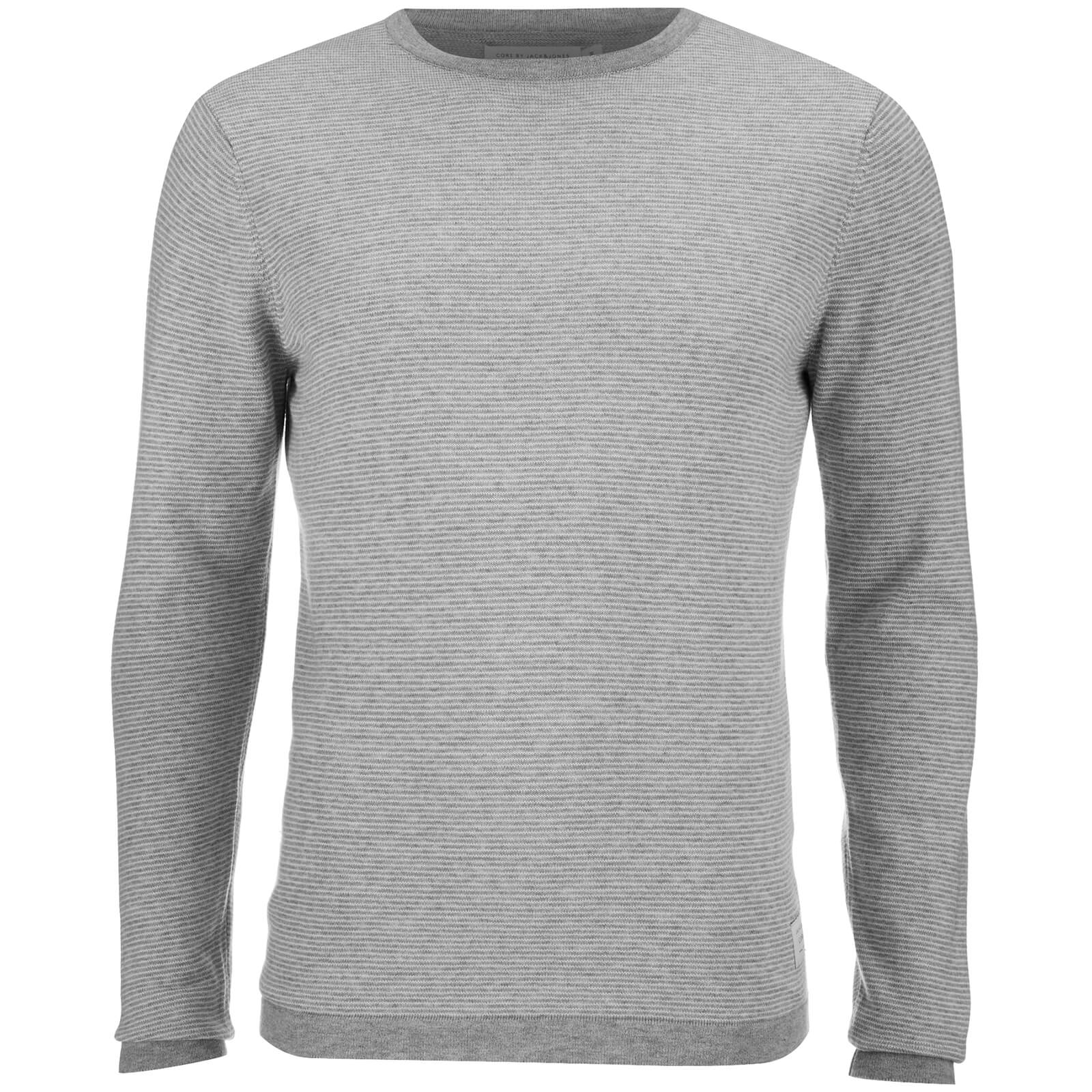 36b9b4ea8219 Description. Men s striped jumper from Jack   Jones with a fine knit  construction. Crafted from pure cotton