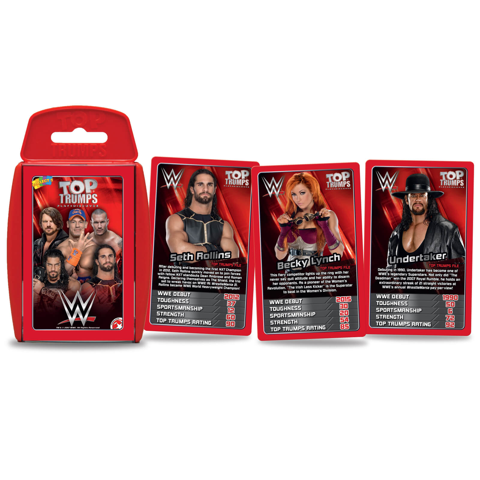 Top Trumps Specials - WWE