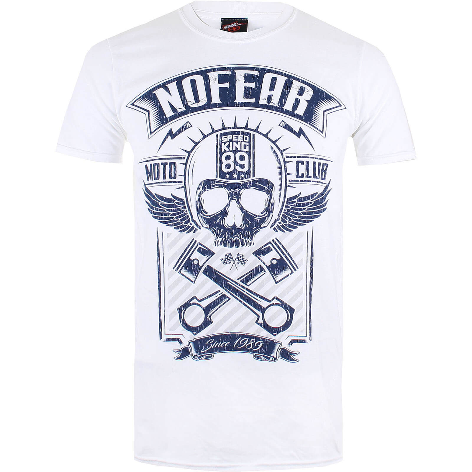 T-Shirt Homme No Fear - Blanc