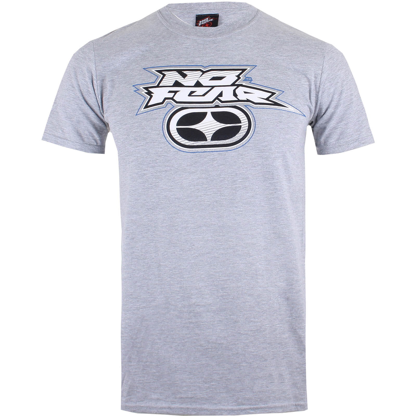 8f6dcde91565 No Fear Men's Reflective Logo T-Shirt - Sports Grey Clothing | Zavvi